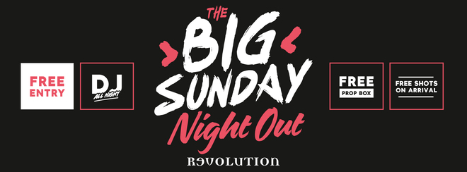 The Big Sunday Night welcome party