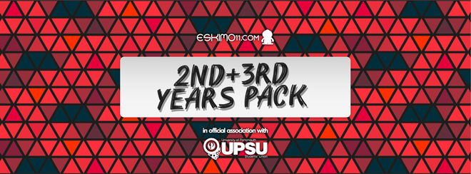 Official 2nd and 3rd Years Discount Ticket Pack!
