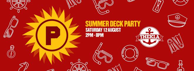 PRESSURE. SUMMER DECK PARTY