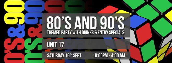 80's/90's Retro Party!