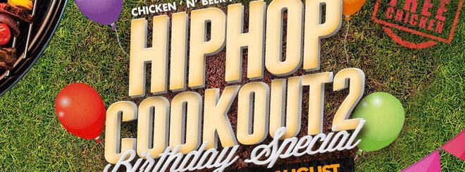 All Day Hip Hop Rooftop Party - Free Chicken!