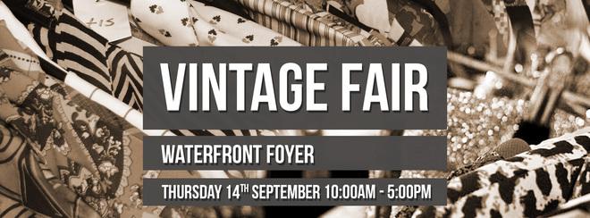 FREE Vintage Fair, Waterfront Foyer Area