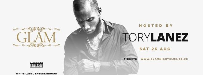 TORY LANEZ - Saturday 26th August - GLAM Nightclub