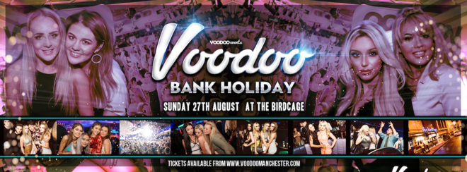 Voodoo Bank Holiday Sunday