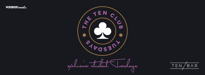The Ten Club Halloween - Free Entry Tuesdays