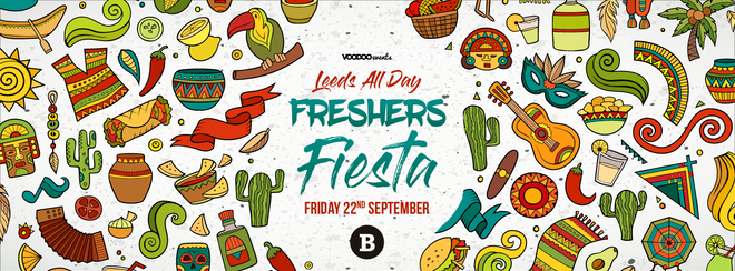Leeds All Day Freshers Fiesta