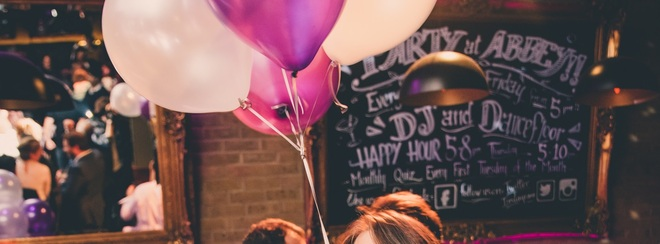 Celebrate your Birthday at Abbey