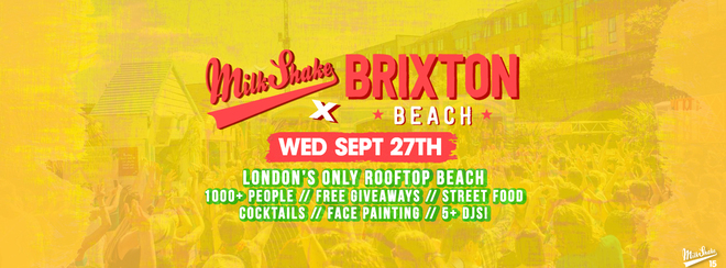The Freshers Rooftop Beach Party! Tickets FLYING OUT!