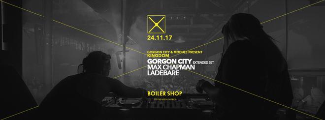 CONCEPT10 (2.4) : 'KINGDOM' W/ GORGON CITY + SUPPORT TBA / BOILER SHOP