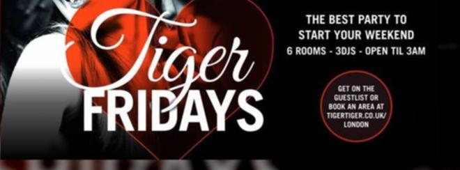 VIP Fridays   Pre-Paid Tickets