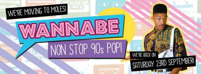 WANNABE - 90s Chart-Pop, Hip-Pop and Brit Pop !