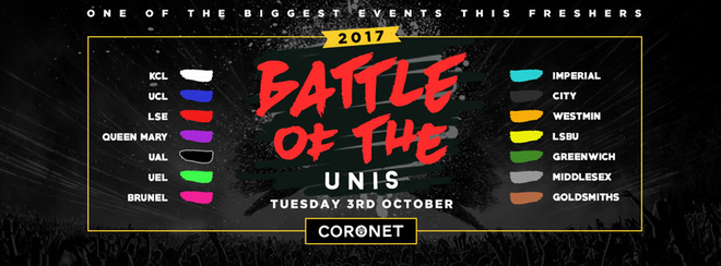 The Annual Battle Of The Unis // The University Clash