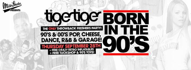 Born In The 90's! London's Only Nostalgic Freshers Rave!