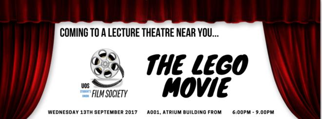 Film Society presents… The Lego Movie!