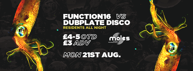 Function 16 Vs Dubplate Disco @ Moles