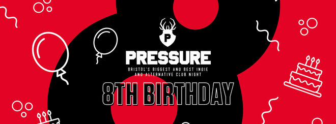 PRESSURE 8TH BIRTHDAY PARTY