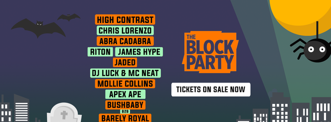 The Block Party: Halloween Festival