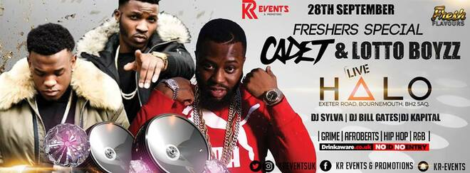 The Freshers Special w/ Cadet, Lotto Boys & more!