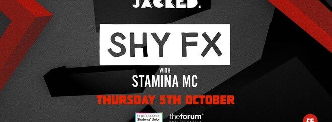 SHY FX @ The Forum, Hatfield // Thursday 5th October