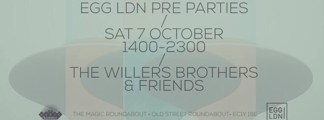 EGG LDN Pre Party