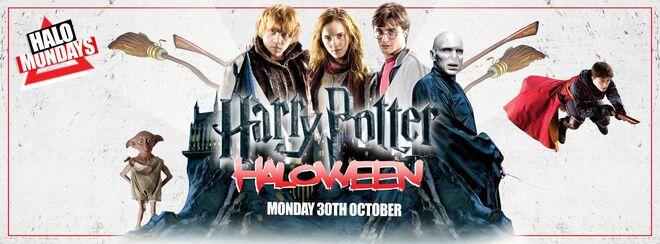 Halo Mondays presents Harry Potter HalloWeen