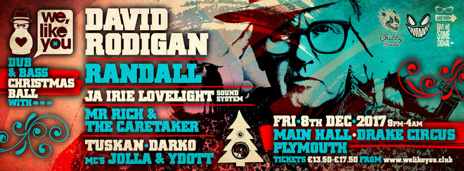 Dub & Bass Christmas Ball with David Rodigan
