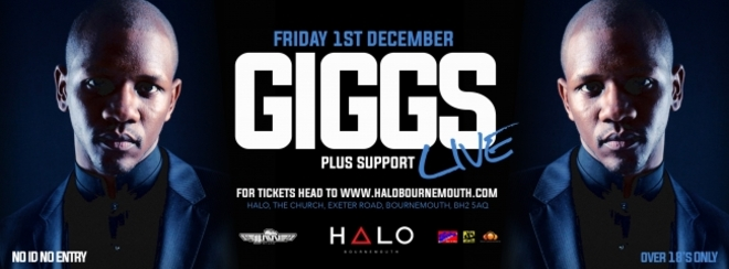 Giggs Live + Special Guests