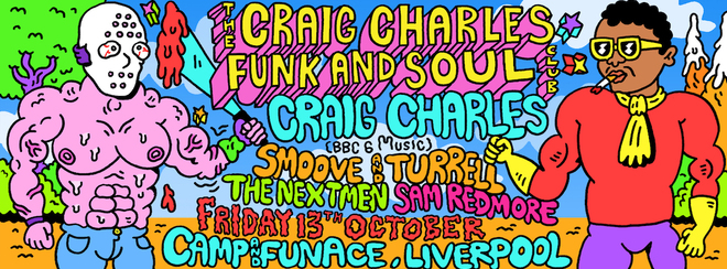 Craig Charles Funk and Soul Club - Liverpool