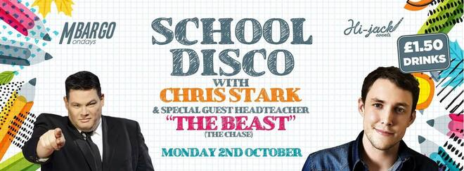 MBARGO MONDAYS  Chris Stark's Skool Disco