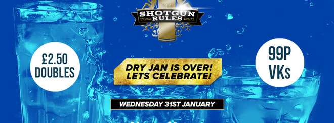 Dry Jan is over - Lets celebrate!