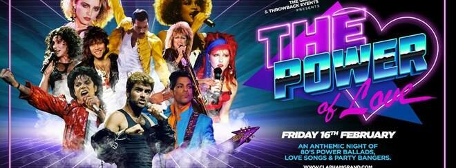 The Power Of Love – 80's Party