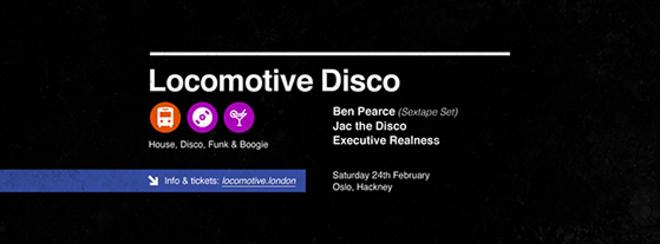 Locomotive Disco - Ben Pearce (Sextape Set) & Jac the Disco