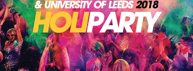 Holi Paint Party Comes To Leeds 2018