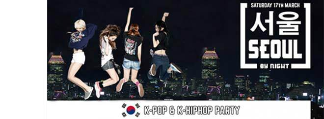 Seoul By Night #3: K-Pop & K-HipHop Party