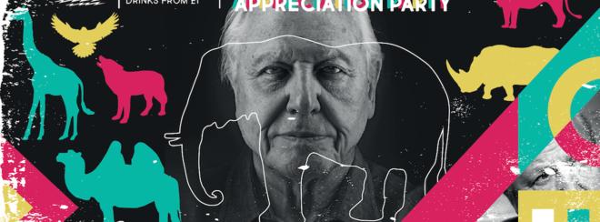 David Attenborough Appreciation Party – Propaganda Leeds