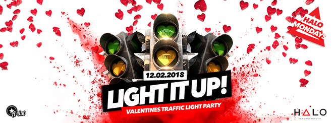 Light It Up / Traffic Light Party / 12.02.18 / Halo Bournemouth