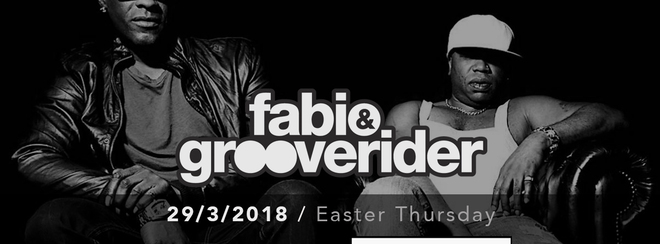Fabio & Grooverider – 29/03/18 Easter Thursday – Shrewsbury