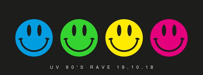 90'S RAVE AT MEDICATION 19.10.18