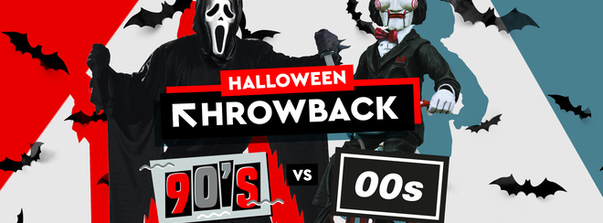 Halloween Throwback: 90s vs 00s | 31st October