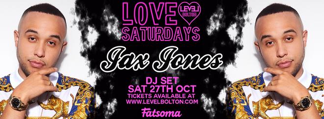 Love Saturdays  Halloween Special Featuring Jax Jones Live Dj set – Pre 12.30am entry ticket