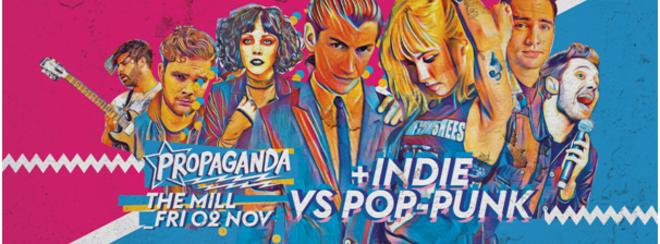 Propaganda Birmingham – Indie Vs Pop-Punk!