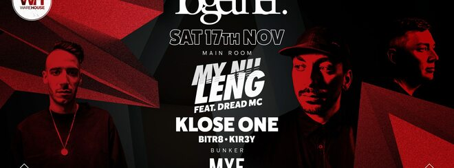 Together Presents: My Nu Leng • Saturday 17th November