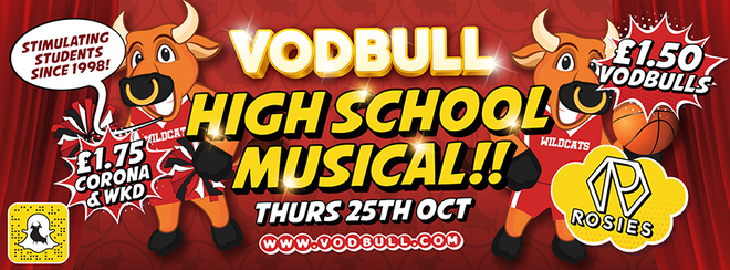 High School Musical!! 25th Oct!! {EARLY BIRDS/FIRST RELEASE SOLD OUT!!}