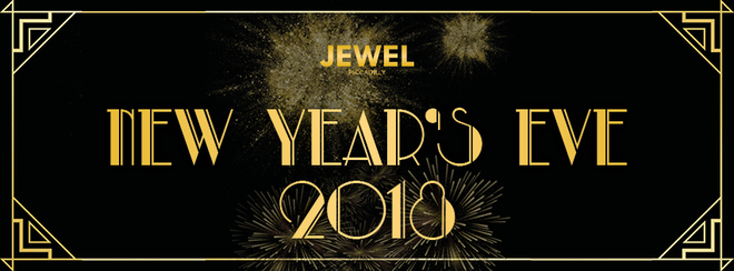 NYE 2018 Jewel Piccadilly