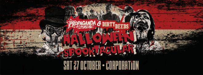 Propaganda Sheffield & Dirty Deeds – Halloween Spooktacular!