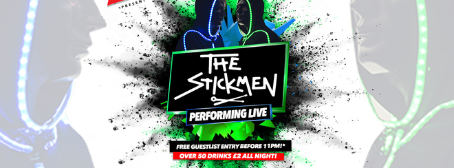 The Stickmen LIVE at Halo 26.11.18