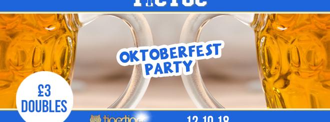 TIC TOC Fridays / Oktoberfest