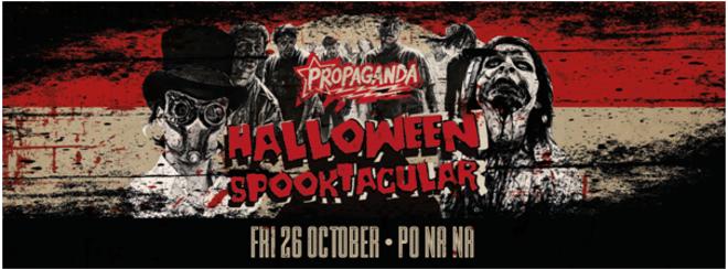 Propaganda Bath – Halloween Spooktacular!