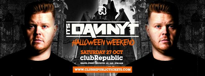 Danny T at Club Republic - Halloween Weekend