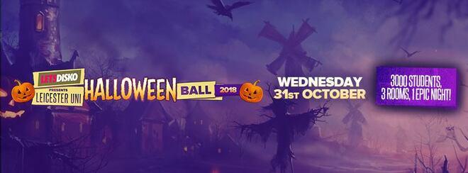 LetsDisko presents Leicester Uni Halloween Ball! Wed 31st Oct.